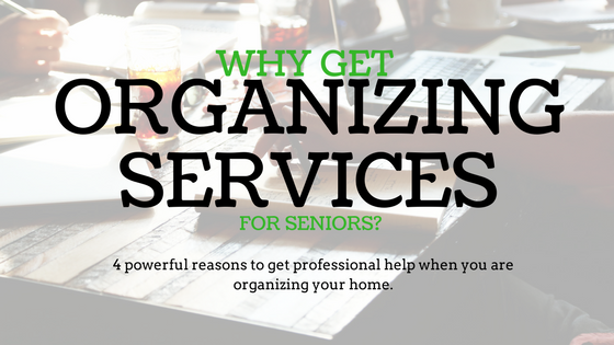 organizing services for seniors in Kansas